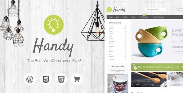 Handy - Handmade Shop WordPress WooCommerce Theme