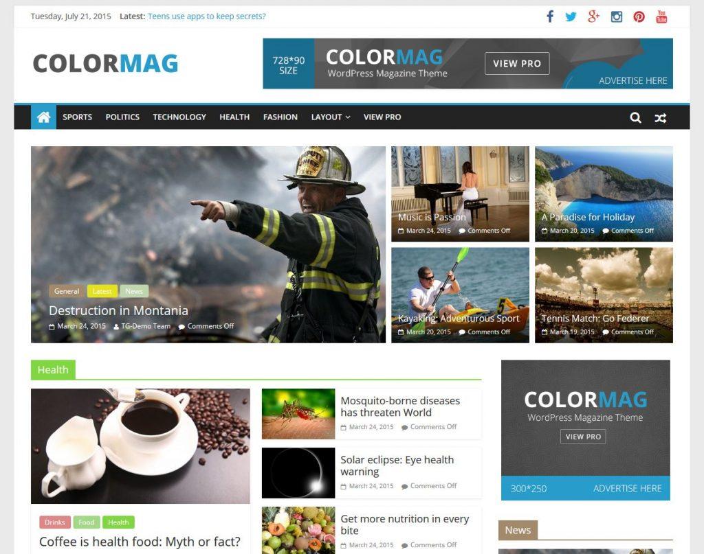 25 Best Free Responsive Magazine Wordpress Themes 2020