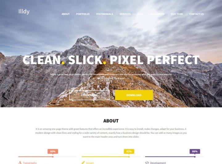 illdy-free-wordpress-landing-page-theme