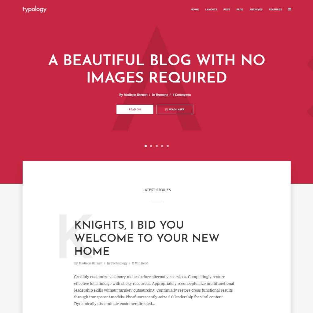15 Best Wordpress Themes For Writers And Authors Free