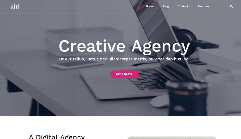 Airi WordPress Theme