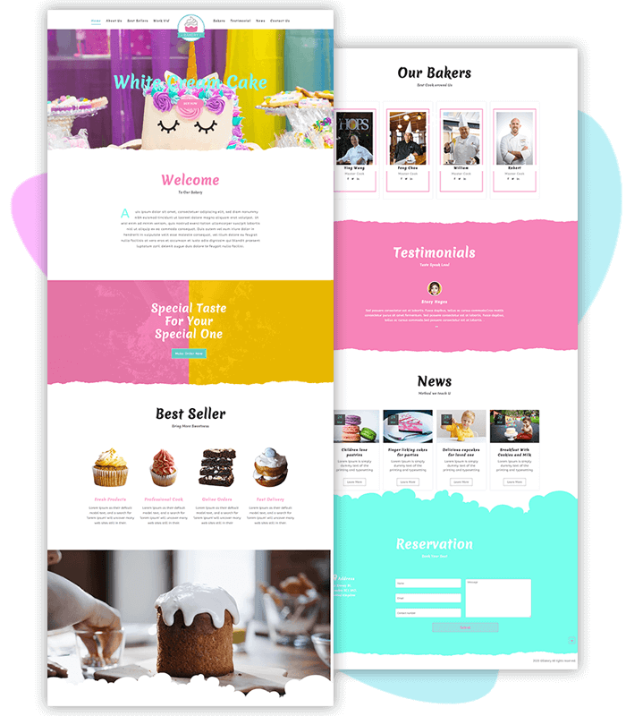 template-demo-page-one-click-bakery-shop-oneline-pro