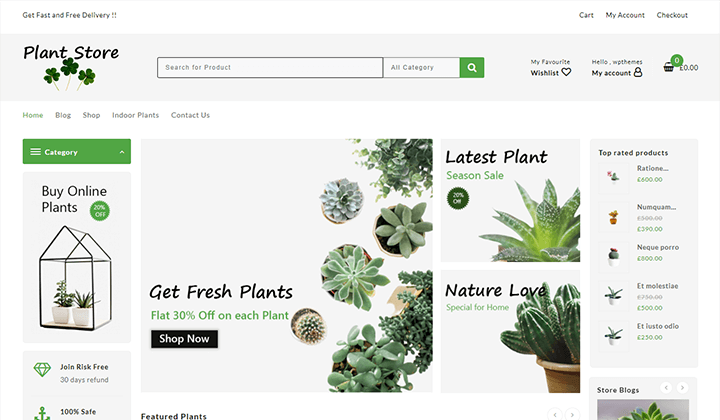 plant-store-template