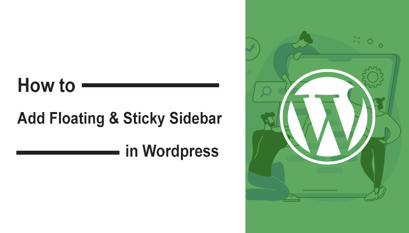 How to add Sticky Sidebar or Scrolling sidebar