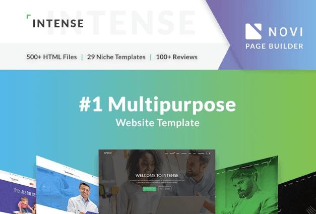 multipurpose html5 templates