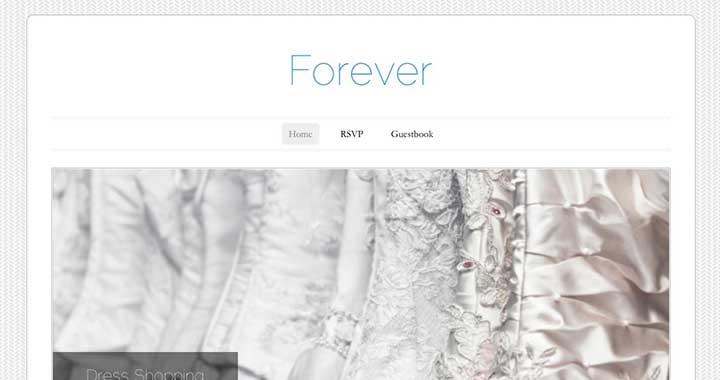 Forever Wedding Shower Invitations