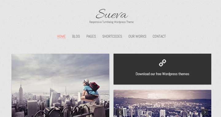 Sueva Tumblr Themes Minimal
