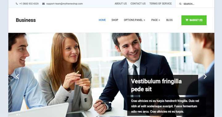 Business Best WordPress Portfolio Theme