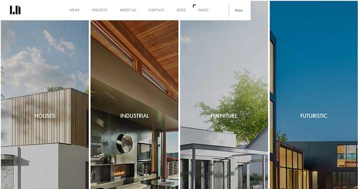 Domik Free Portfolio WordPress Themes