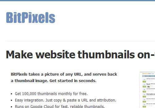 Bitpixels Online Screenshot Tool