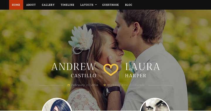Neeqah WordPress Themes for Wedding Photographers