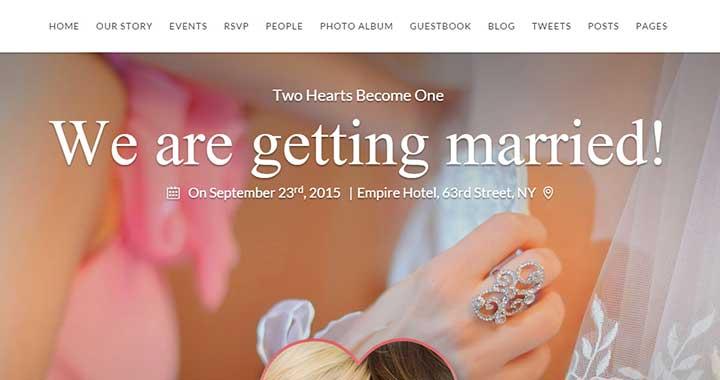SayYes Wedding WordPress Themes