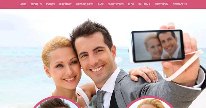 Wedding Wedding Theme WordPress