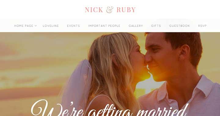 Yes WordPress Wedding Photography Themes