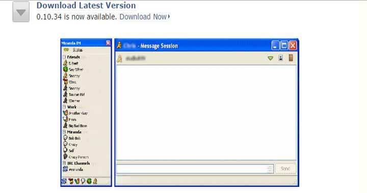 Miranda-IM gtalk download for windows