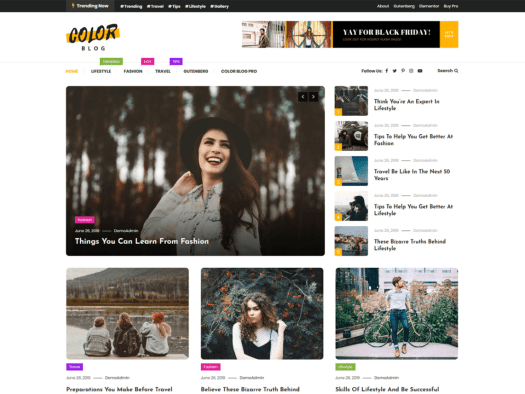 10+ Best and Free WordPress Blog Themes