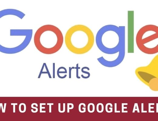 how to setup google alerts in 2020