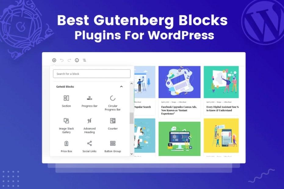 WordPress Gutenberg Block Plugins