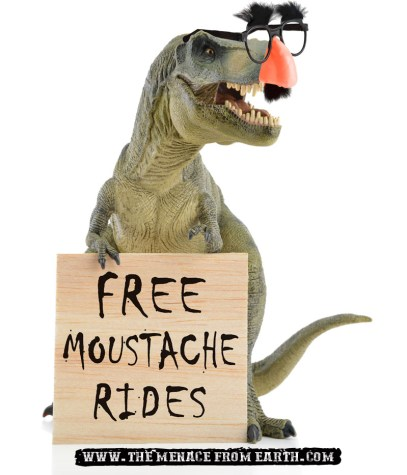 Over 60% of dinosaur moustaches are fake.