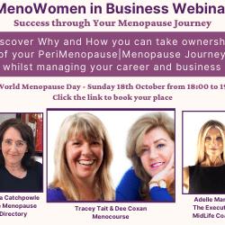 MenoWomen in Business Webinar