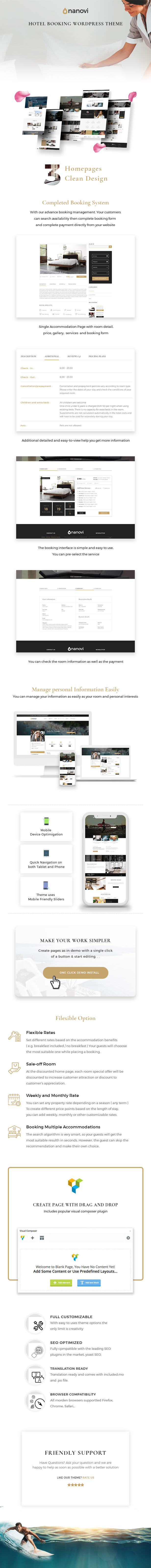 Nanovi - WordPress theme for resorts and hotels - 5