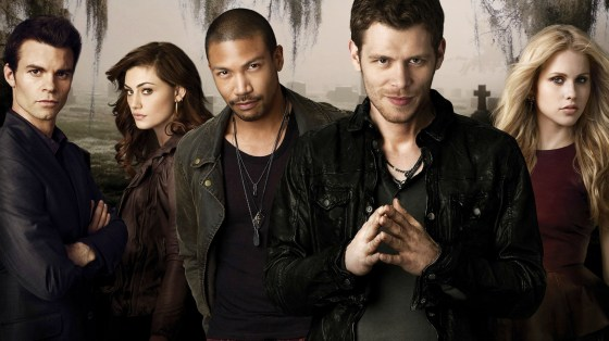 The cast, from left to right: Elijah, Hayley, Marcel, Klaus and Rebekah