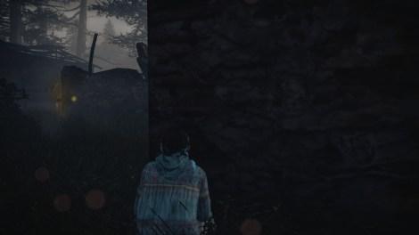 Natalia can sense monsters, even through walls. Pretty handy for stealth-kills!