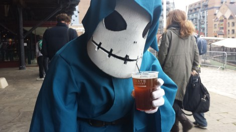 The Emissary of Evil having a pint!