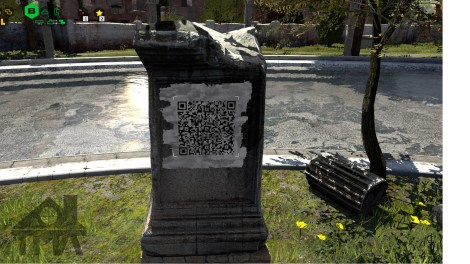 For some QR codes you need to be very crafty!