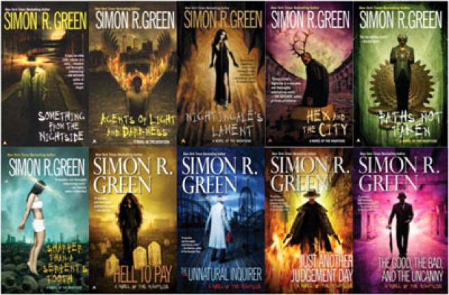 Simon R. Green's Urban Fantasy is vast and weird.