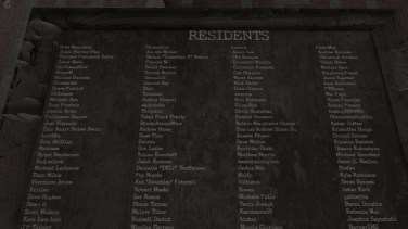 I know some of these residents, they were good people. I wonder where they are.