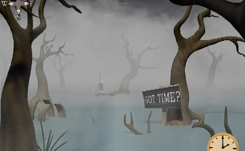 The Weekly Puzzle – Wibbly-Wobbly Timey-Wimey…Swamp!