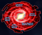 The Galaxy at War could easily represent the spheres of influence on Arrakis (Image Credit: Mass Effect Wiki)