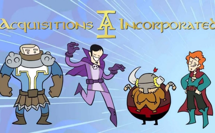 Things I love – Acquisitions Incorporated