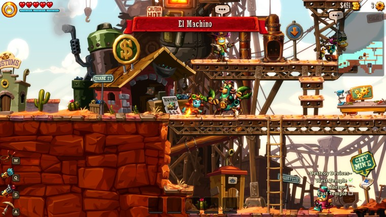 Steamworld Dig 2 - El Machino