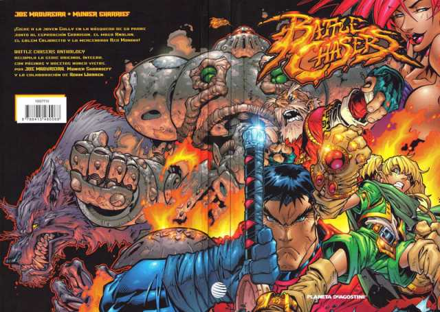 Battle Chasers - Comic