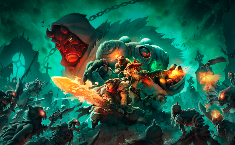 Latest Gaming Obsession – Battle Chasers: Nightwar