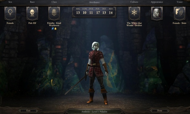 Pillars of Eternity - Character Progression