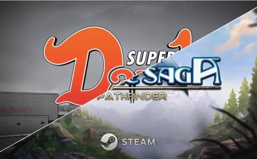 Twinned Reviews: Super Daryl Deluxe & Azure Saga: Pathfinder
