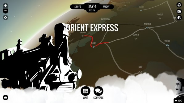 The only thing I didn't experience was a Murder on the Orient Express