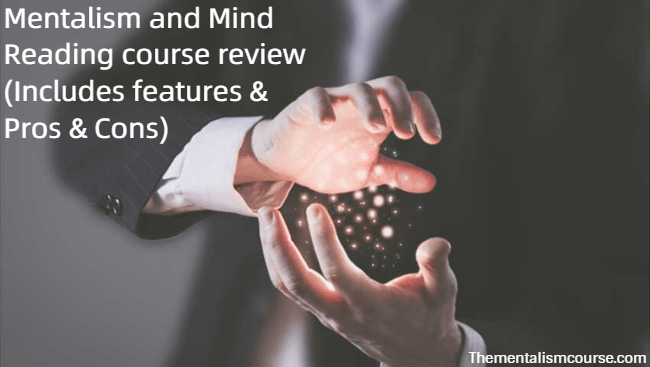 Mentalism and Mind Reading course review - Includes features Pros Cons