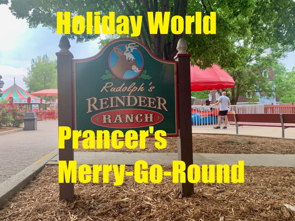 Prancer's Merry-Go-Round at Holiday World