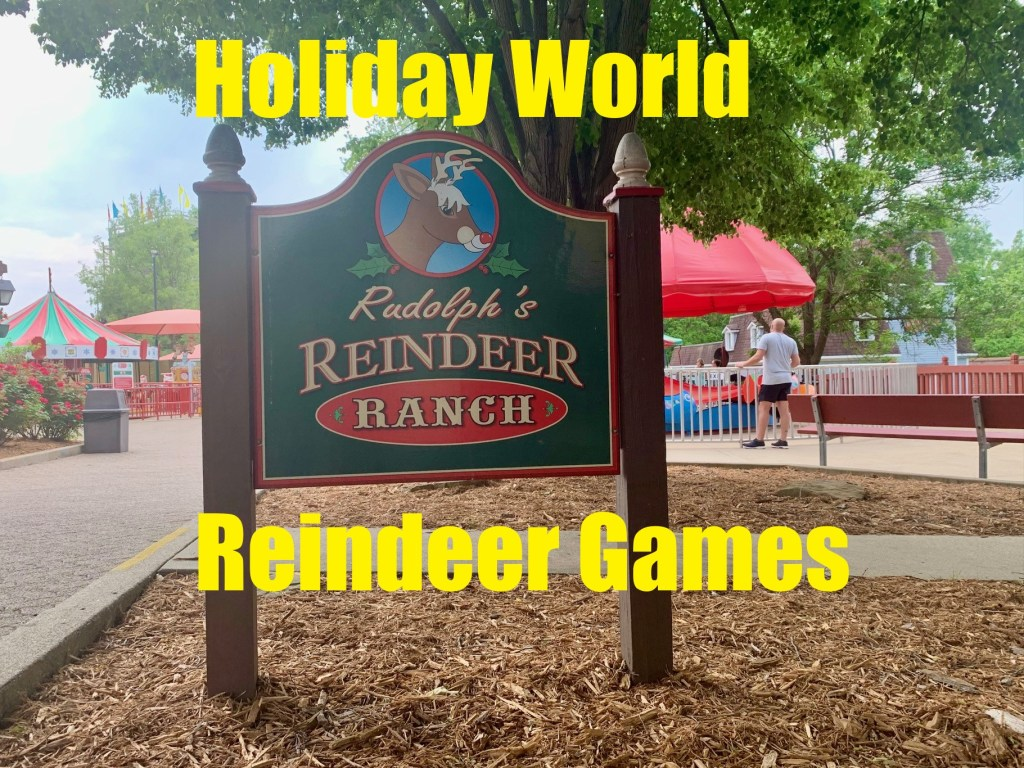 Reindeer Games at Holiday World
