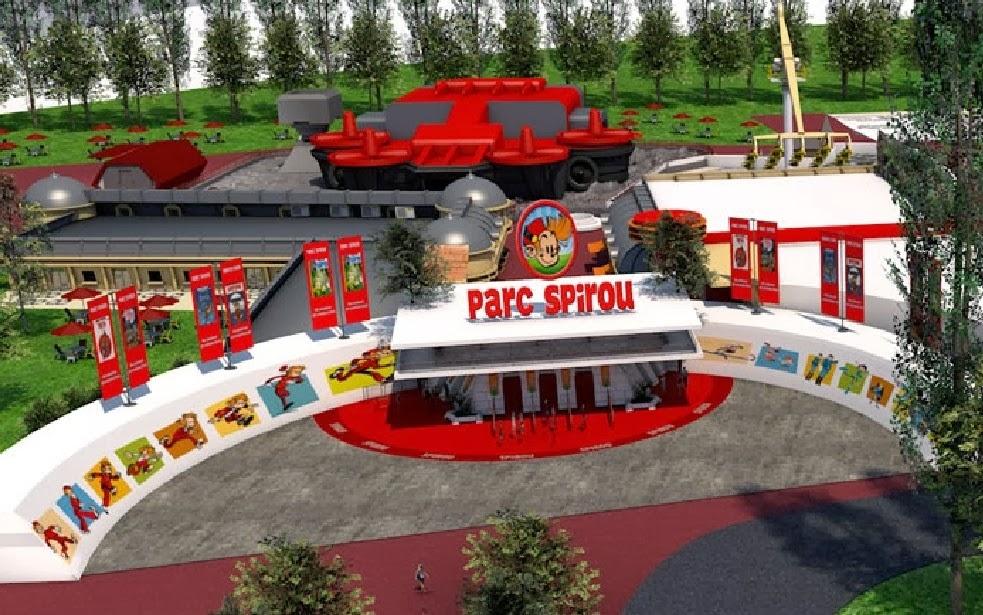 De nouvelles images pour le Parc Spirou 1