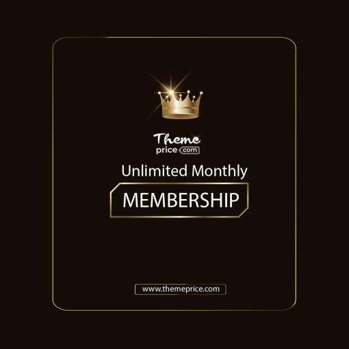 Premium Membership Unlimited Monthly