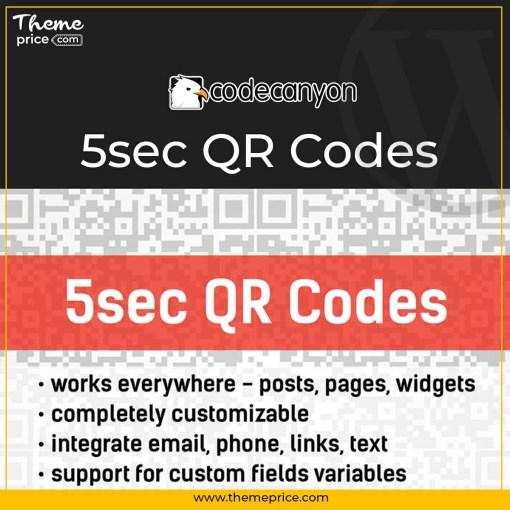 5sec QR Codes