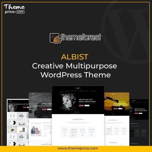 ALBIST – Creative Multipurpose WordPress Theme