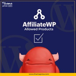 AffiliateWP – Allowed Products