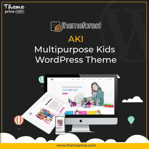 Aki – Multipurpose Kids WordPress Theme