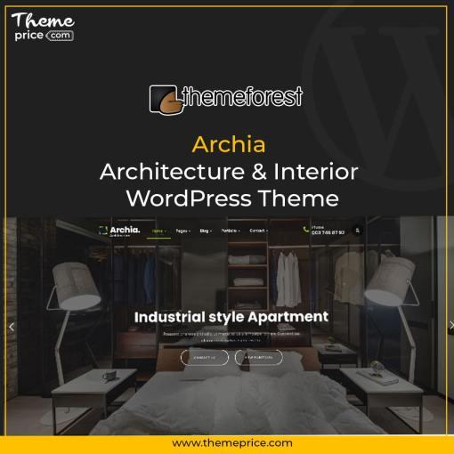 Archia – Architecture & Interior WordPress Theme